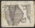 View James Fitzgerald sketchbook #11 digital asset: sketchbook page 8