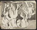 View James Fitzgerald sketchbook #11 digital asset: sketchbook page 10
