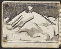 View James Fitzgerald sketchbook #11 digital asset: sketchbook page 13