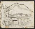 View James Fitzgerald sketchbook #11 digital asset: sketchbook page 14