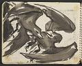 View James Fitzgerald sketchbook #11 digital asset: sketchbook page 15