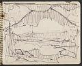 View James Fitzgerald sketchbook #11 digital asset: sketchbook page 43