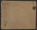 View James Fitzgerald sketchbook #11 digital asset: cover back