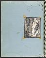 View James Fitzgerald sketchbook #14 digital asset: cover verso