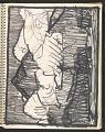 View James Fitzgerald sketchbook #14 digital asset: sketchbook page 9