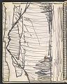 View James Fitzgerald sketchbook #14 digital asset: sketchbook page 18