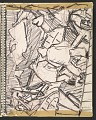 View James Fitzgerald sketchbook #14 digital asset: sketchbook page 19