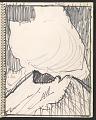 View James Fitzgerald sketchbook #14 digital asset: sketchbook page 23
