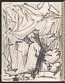 View James Fitzgerald sketchbook #14 digital asset: sketchbook page 28