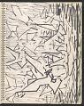 View James Fitzgerald sketchbook #14 digital asset: sketchbook page 33