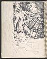 View James Fitzgerald sketchbook #14 digital asset: sketchbook page 34