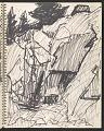 View James Fitzgerald sketchbook #14 digital asset: sketchbook page 35