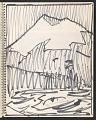 View James Fitzgerald sketchbook #14 digital asset: sketchbook page 37
