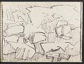 View James Fitzgerald sketchbook #17 digital asset: sketchbook page 11