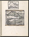 View James Fitzgerald sketchbook #14 digital asset: sketchbook page 39