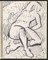 View James Fitzgerald sketchbook #14 digital asset: sketchbook page 41