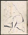 View James Fitzgerald sketchbook #14 digital asset: sketchbook page 42