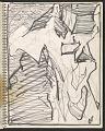 View James Fitzgerald sketchbook #14 digital asset: sketchbook page 47