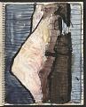 View James Fitzgerald sketchbook #14 digital asset: sketchbook page 51