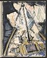 View James Fitzgerald sketchbook #14 digital asset: sketchbook page 53