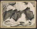View James Fitzgerald sketchbook #6 digital asset: sketchbook page 5