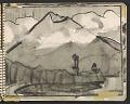 View James Fitzgerald sketchbook #6 digital asset: sketchbook page 18
