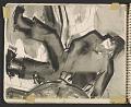 View James Fitzgerald sketchbook #6 digital asset: sketchbook page 19