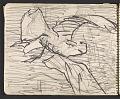 View James Fitzgerald sketchbook #6 digital asset: sketchbook page 23