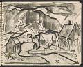 View James Fitzgerald sketchbook #6 digital asset: sketchbook page 26