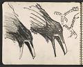 View James Fitzgerald sketchbook #6 digital asset: sketchbook page 33
