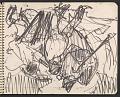 View James Fitzgerald sketchbook #6 digital asset: sketchbook page 38