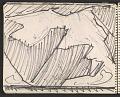 View James Fitzgerald sketchbook #6 digital asset: sketchbook page 39