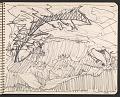 View James Fitzgerald sketchbook #6 digital asset: sketchbook page 46