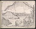 View James Fitzgerald sketchbook #6 digital asset: sketchbook page 48