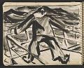 View James Fitzgerald sketchbook #6 digital asset: sketchbook page 57