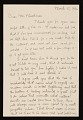 View Charles Ephraim Burchfield letter to Lawrence Arthur Fleischman, Detroit, Mich. digital asset number 0