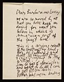 View Abraham Rattner, New York, N.Y. letter to Barbara and Lawrence Fleischman, Detroit, Mich. digital asset number 0