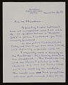 View Louis Bouché letter to Lawrence Fleischman digital asset number 0