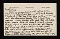View Ben Shahn, Roosevelt, N.J. letter to Barbara Fleischman, Detroit, Mich. digital asset number 0