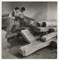 View Selecting wood at the Estudio de Artes Manuales. digital asset number 0