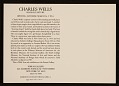 View Charles Wells exhibition announcement digital asset number 1
