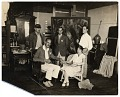 View Group in Edwin Dickinson's studio digital asset number 0