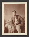 View Photograph of Frederick Carl Frieseke sitting on a bed digital asset: front