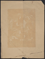 View Christmas print from William and Marguerite Zorach digital asset: verso 1