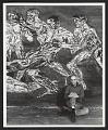 View Leon Golub with his painting <em>Gigantomachy III</em> digital asset number 0