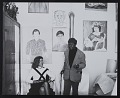 View Darthea Speyer and Beauford Delaney in his Paris studio digital asset number 0