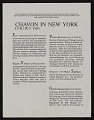 "View ""Chavon In New York"" newsletter digital asset number 0"