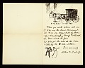 View A. B. (Arthur Burdett) Frost letter to Adelaide Lawson Gaylor digital asset number 1