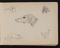 View Childhood sketchbook digital asset: page 8
