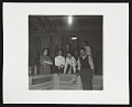 View Photograph of Sonia Gechtoff and others in basement of San Francisco Museum of Modern Art digital asset number 0